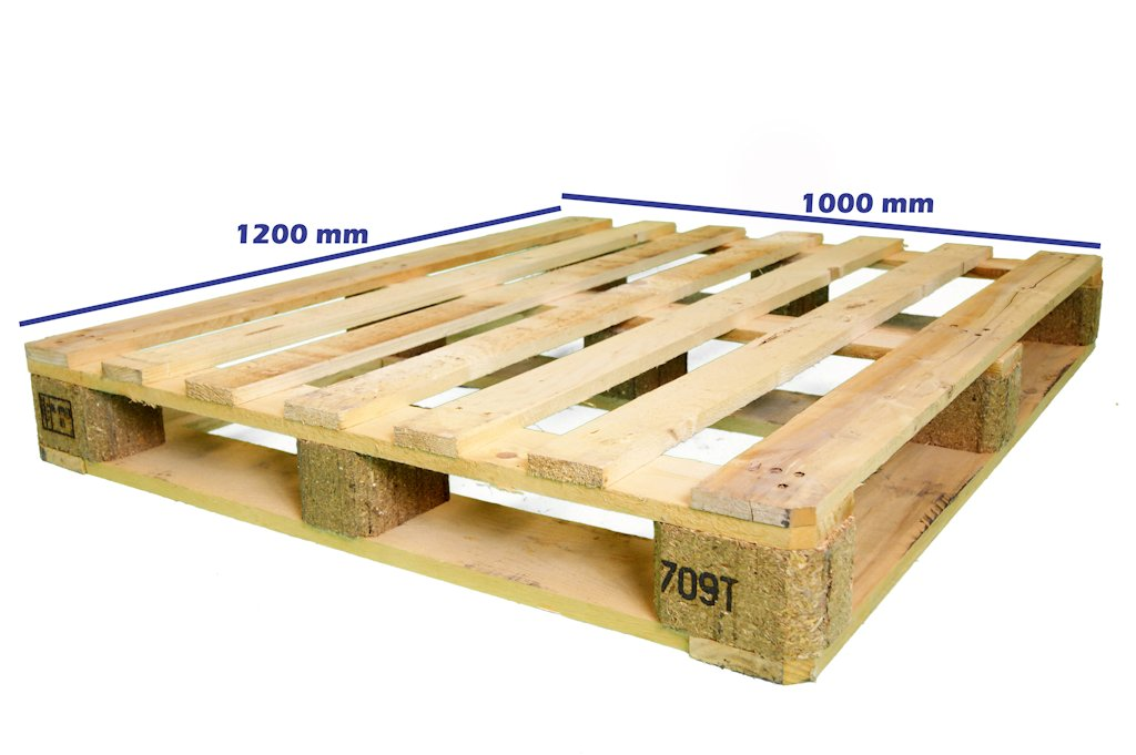 palet usado 120 x 100 fuerte perimetral - Europalets