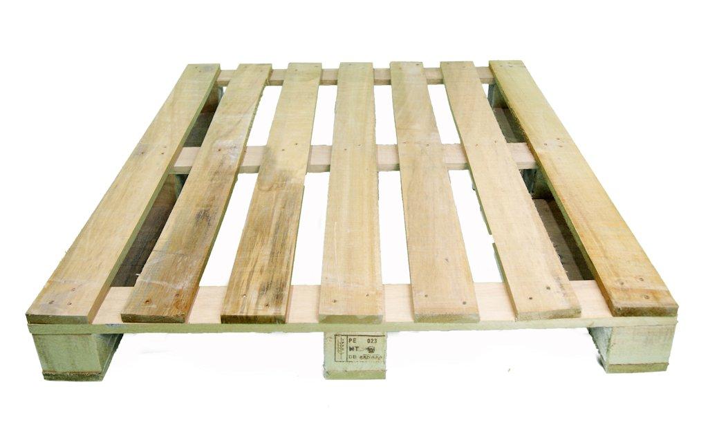 Palet 120 x 100 un uso palets y europalets de madera for Espuma a medida para palets