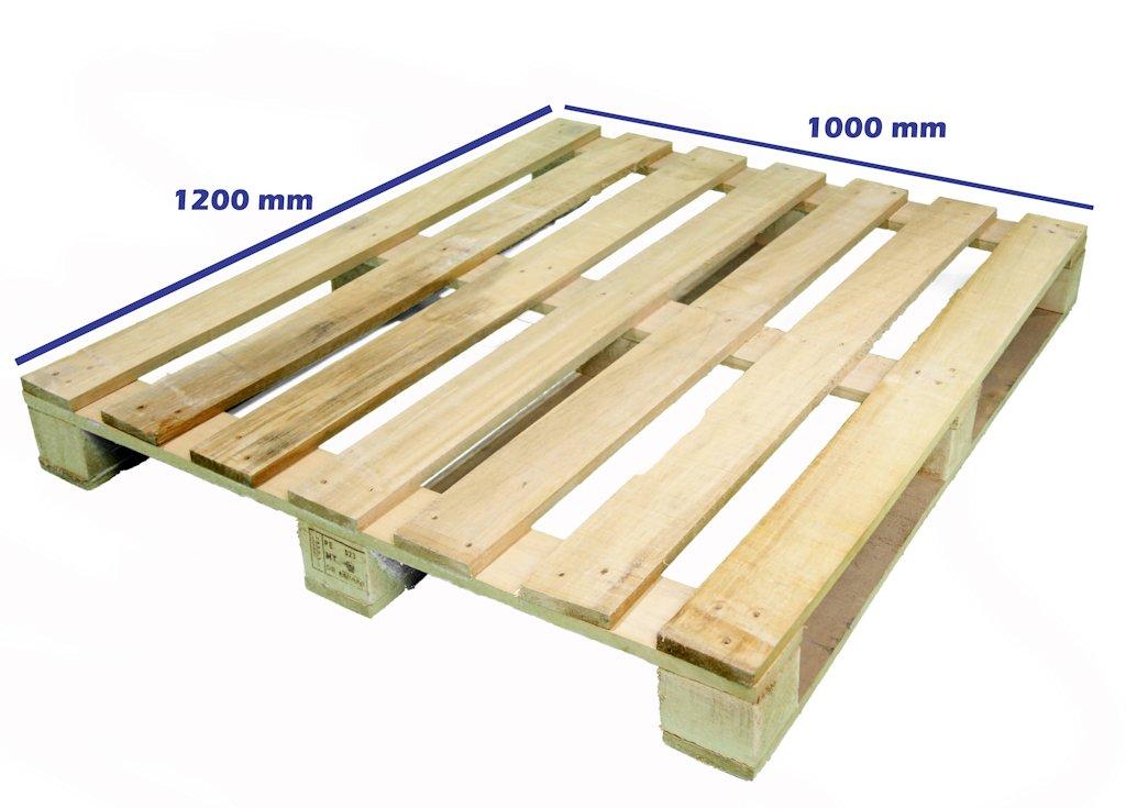 Palet 1200 x 1000 un uso palets y europalets de madera - Madera de palet ...