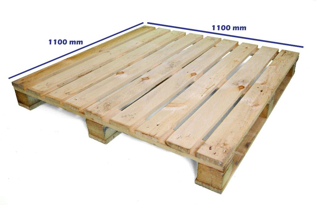 De que madera son los palets materiales de construcci n - Tamano palet europeo ...