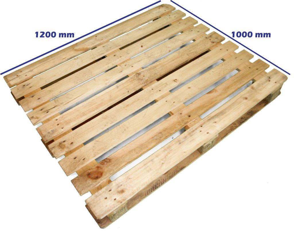 Palet cp1 120 x 100 reciclado palets y europalets de madera plastico usados reciclados y - Cuanto vale un palet ...